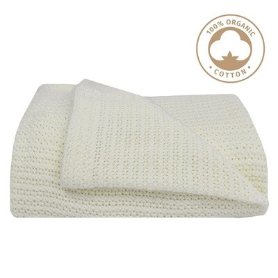 Cot Cell Blanket White