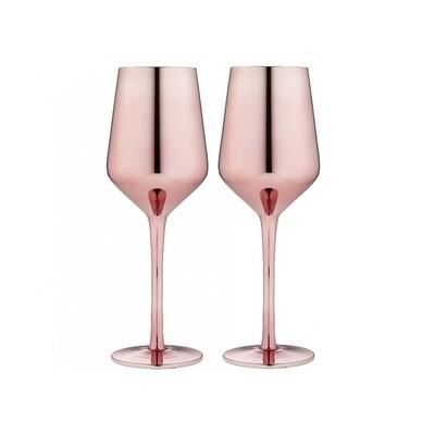 Rose Wine Glass 2pk