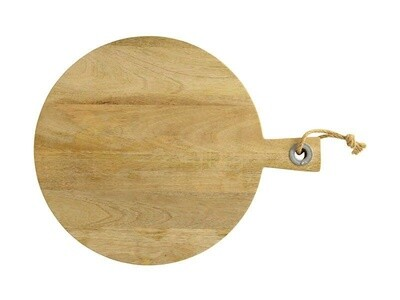 Mezze Round Serving Board 58x46cm