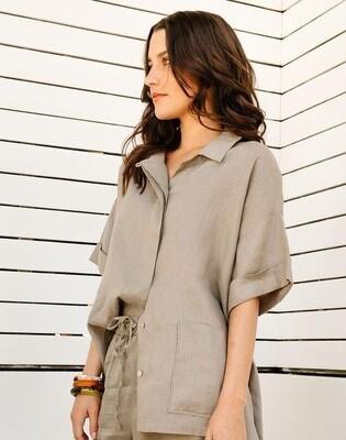 Button Shirt Sage