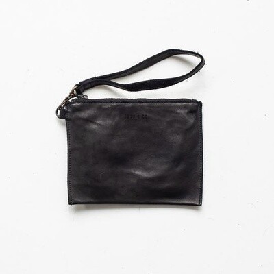 Small Flat Pouch Black
