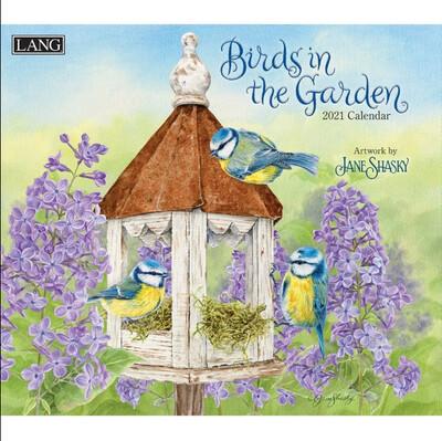 2021 Birds In The Garden Calendar