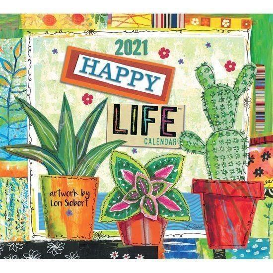 2021 Happy Life Calendar