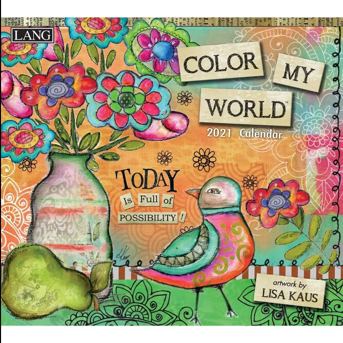 2021 Colour My World Calendar