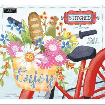 2021 Stitched Calendar