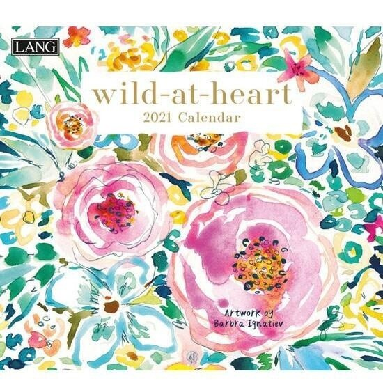 2021 Wild At  Heart Calendar