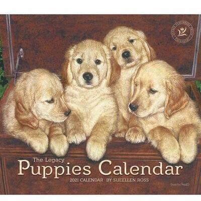 2021 Puppies Calendar