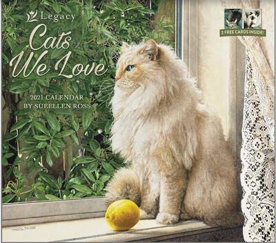 2021 Cats We Love Calendar