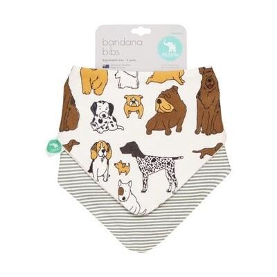 Bandana Bibs - Dog Breed 2 pk