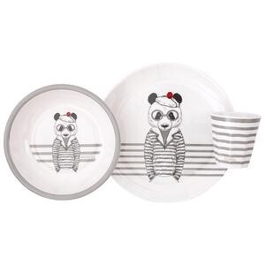 Melamine Dinner Set - Bear