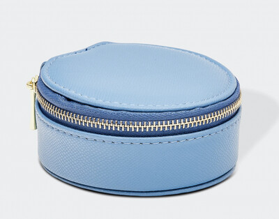 Sisco Lizard Chambray Jewellery Box