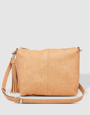 Daisy Camel Crossbody Bag