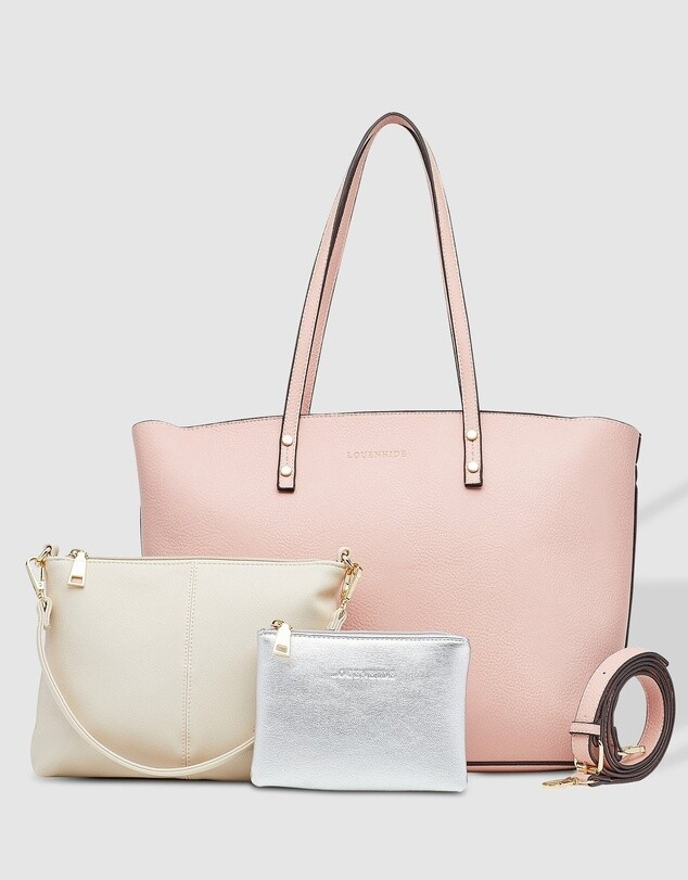 Riley Trio Bag Pale Pink