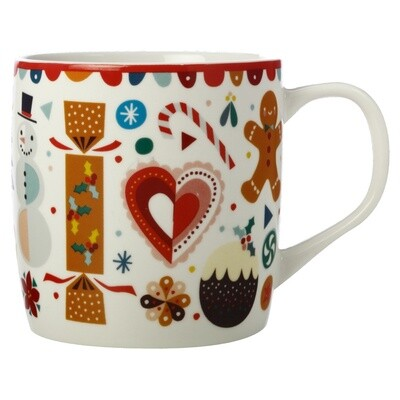 Festive Friends Mug 375ML Bon Bon