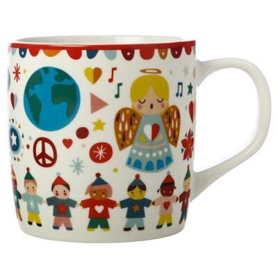 Festive Friends Mug 375ML Peace