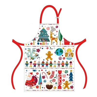Festive Friends Christmas Apron
