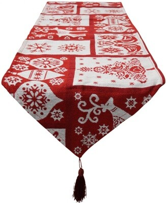 Tablerunner Christmas Bells