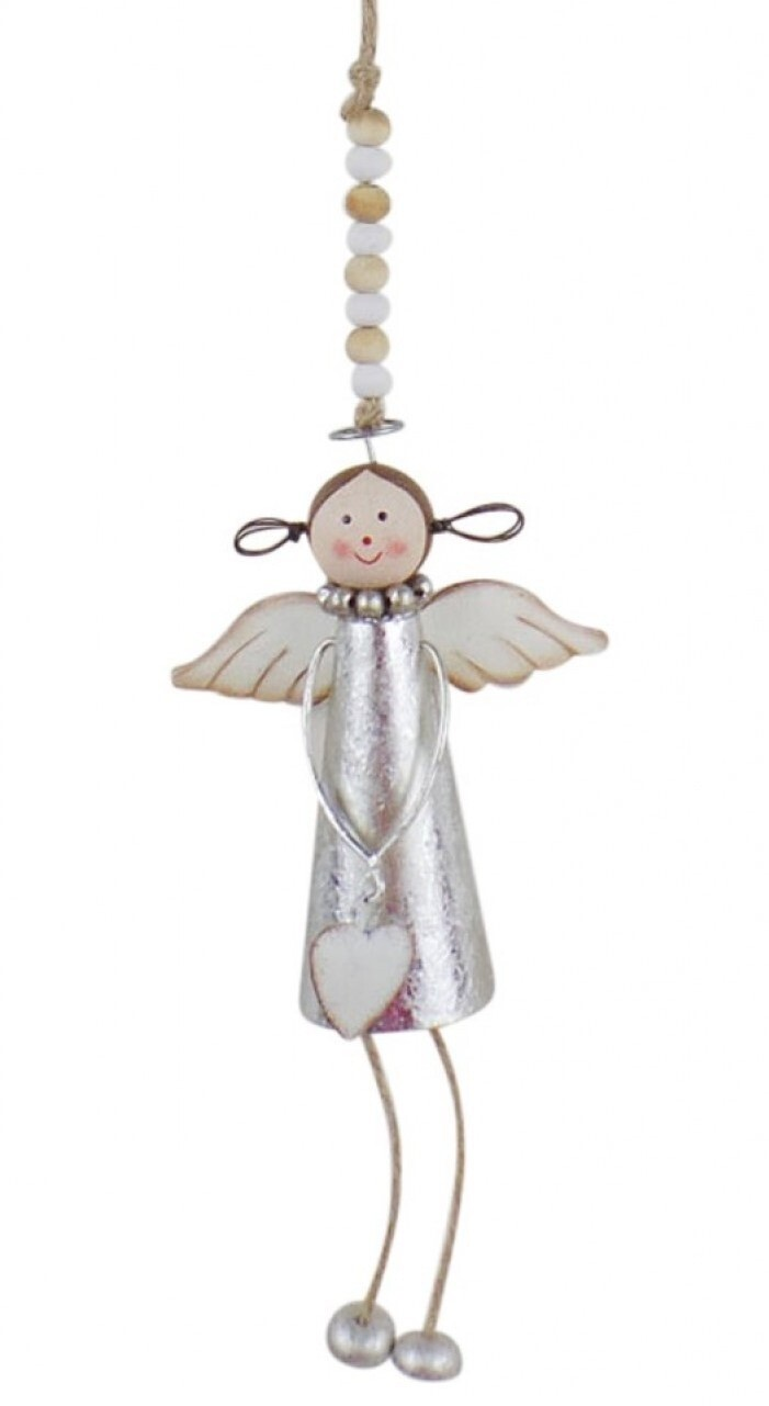 Hanging Angel Silver