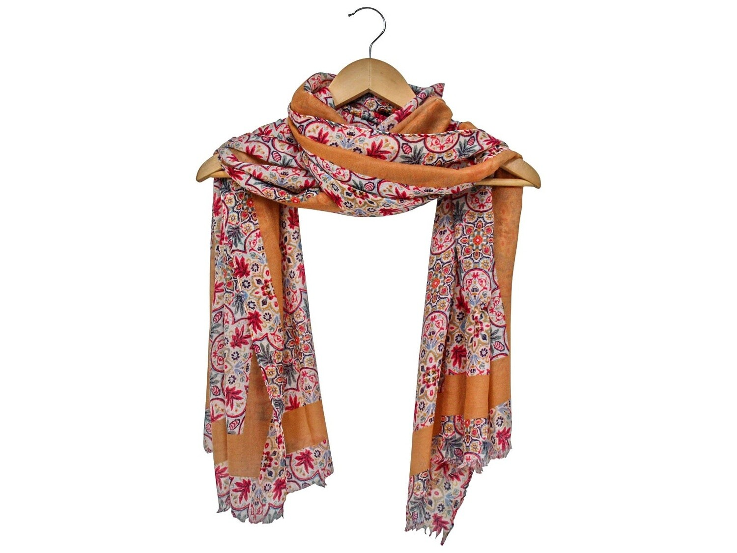 Scarf Country Flowers