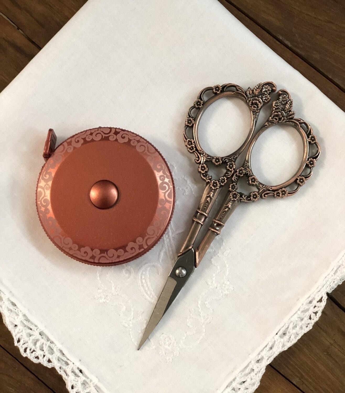 Rose Gold Embroidery Scissor Set