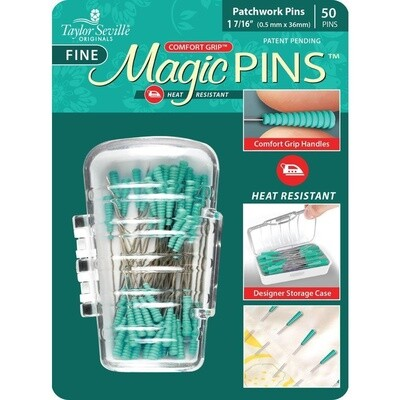 Magic Pins - Patchwork Pins (50)