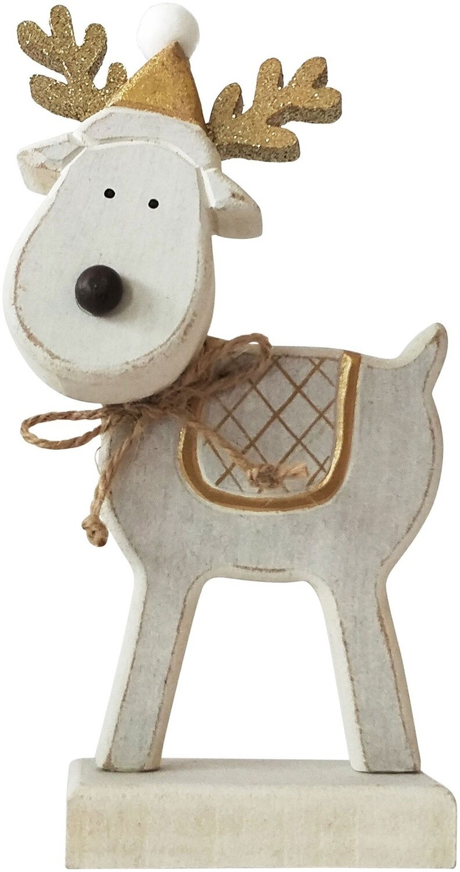 Reindeer White 17cm