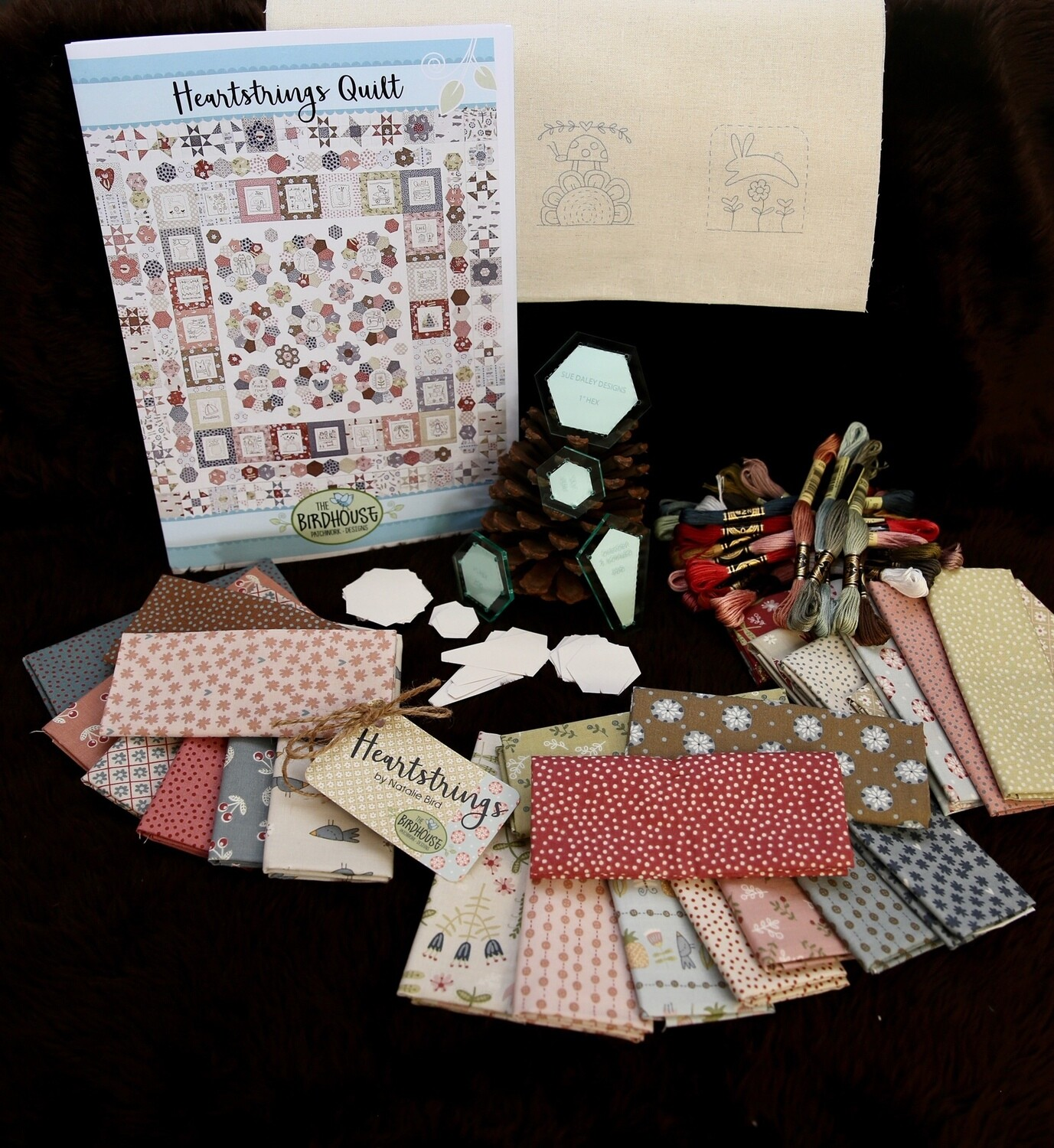 Heartstrings Quilt Kit