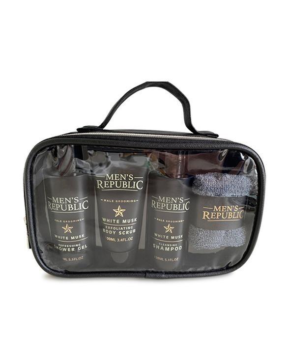 Men's Republic Shower Cleansing Kit