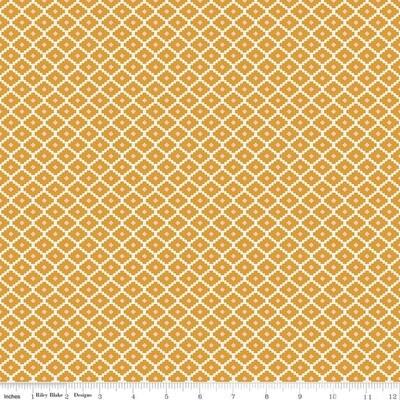Golden Aster - Geometric Mustard