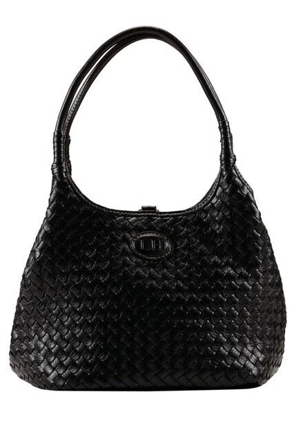 Poppet Plait Bag Black