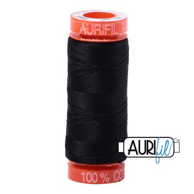 Aurifil Cotton Thread - Black