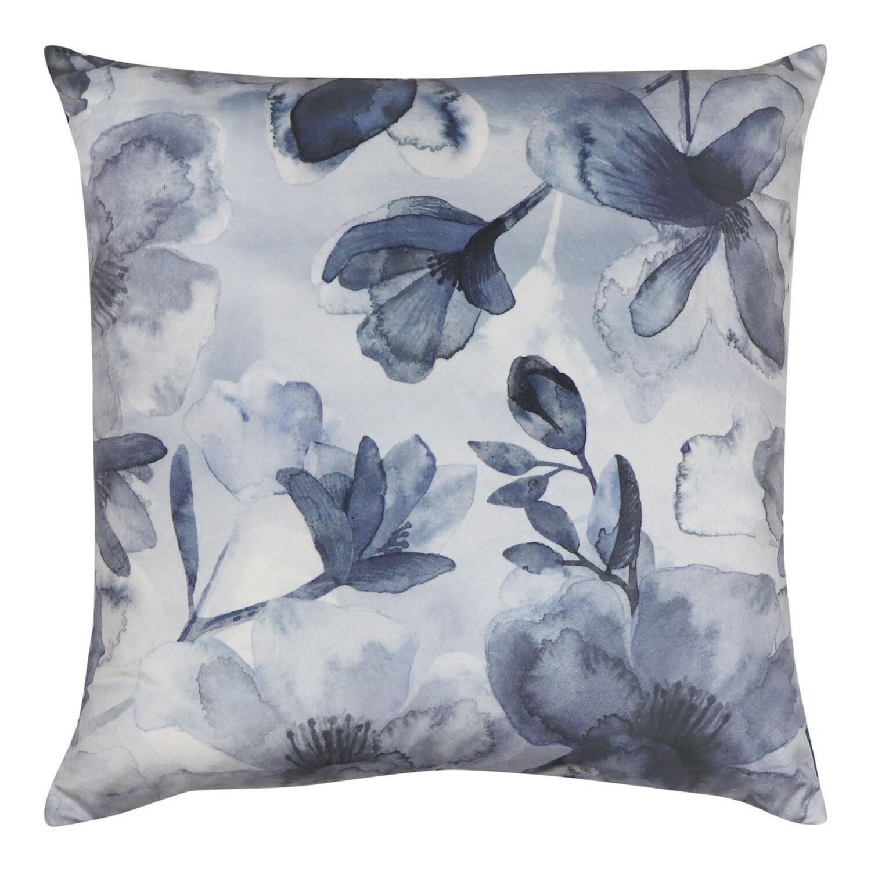 Euroa Blue Velvet Cushion 50cm