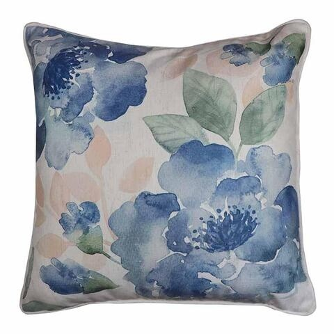 Gardenia Blue/Green Cushion 50cm