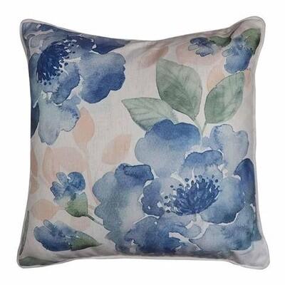 Gardenia Blue/Green Cushion 50cm