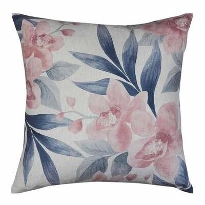 Orchid Blush/Slate Cushion 50cm