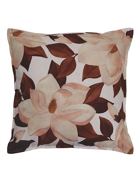 Magnolia Paprika Cushion 50cm
