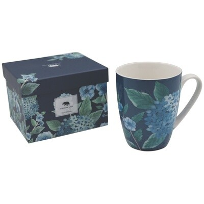 Hydrangea Blue Mug