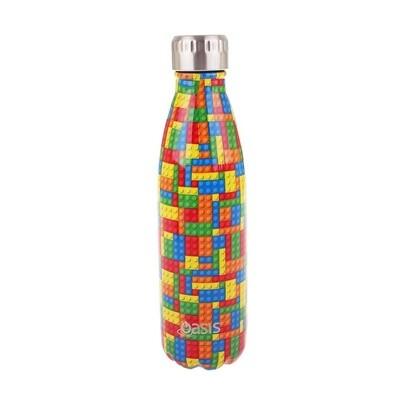 Drink Bottle 500ml Bricks
