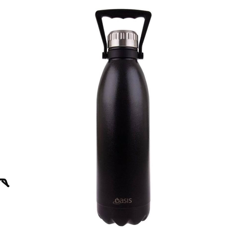 Drink Bottle 1.5L Hammertone Grey
