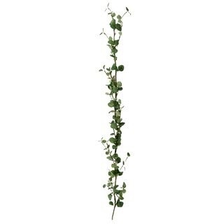 White Berry Garland/Leaves 150cm