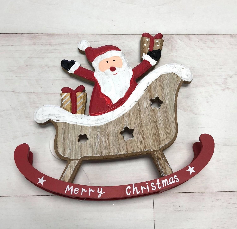 Santa Sleigh Rocker