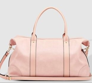 Alexis Travel Bag Pale Pink
