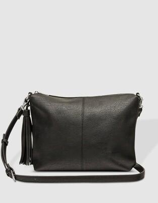 Daisy Black Crossbody Bag