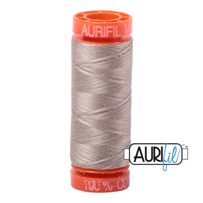 Aurifil Cotton Thread - Rope Beige