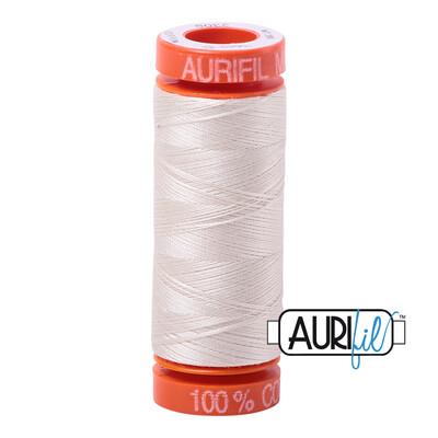 Aurifil Cotton Thread - Silver White