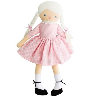 Beth Doll Pink Gingham
