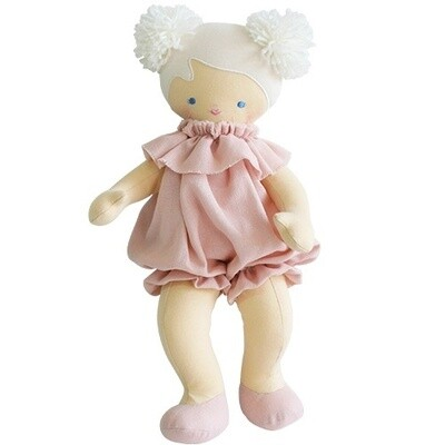 Baby Lucy Pink Linen