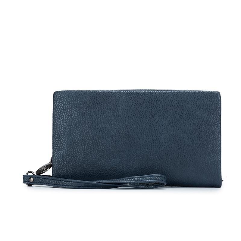 Mavie Wallet Gunmetal Blue