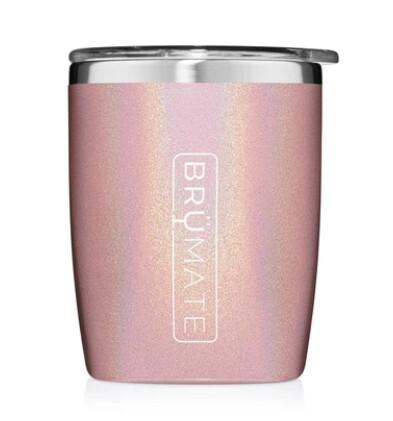 Brumate Rocks Tumbler Glitter Blush