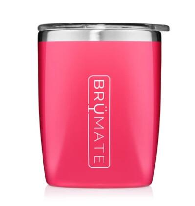 Brumate Rocks Tumbler Neon Pink
